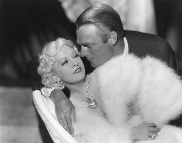 Mae West and Randolph Scott in Go West Young Man (1936)