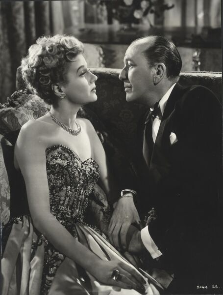 Margaret Leighton and Noel Coward