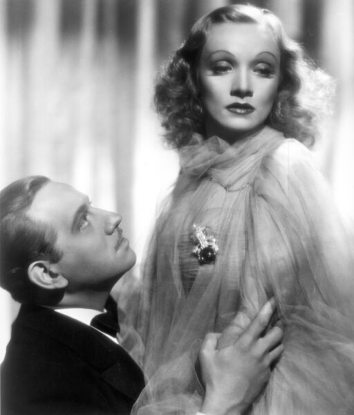 Melvyn Douglas and Marlene Dietrich in Angel (1937)