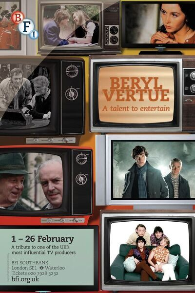 Poster for Beryl Vertue Season at BFI Southbank (1 - 26 February 2013)