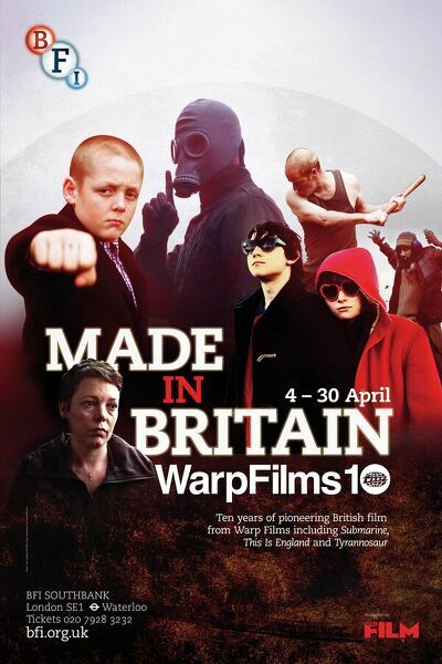 Poster for Made In Britain (Warp Films at 10) Season at BFI Southbank (4 - 30 April 2013)