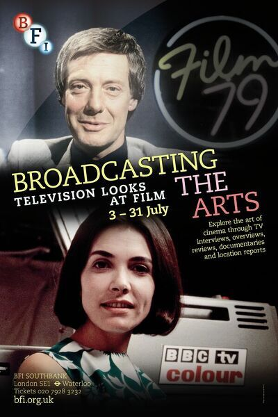 Poster for Broadcasting The Arts Season at BFI Southbank (3 - 31 July 2013)