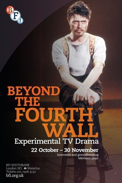 Poster for Beyond The Fourth Wall Season at BFI Southbank (22 Oct - 30 Nov 2012)