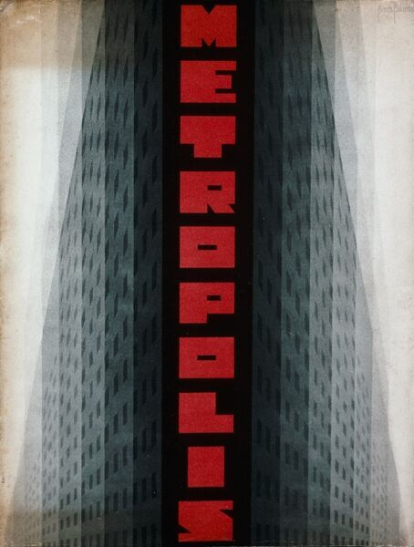 Poster for Fritz Lang's Metropolis (1927). © This image is out of