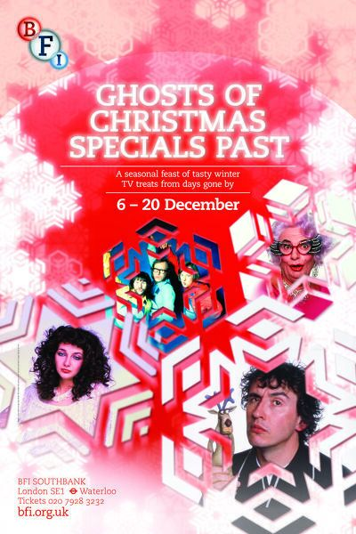 Poster for Ghosts of Christmas Specials Past Season at BFI Southbank (6-20 December 2012)