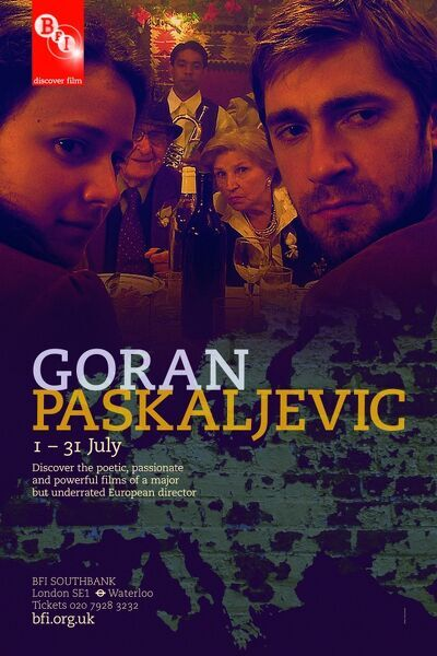 Poster for Goran Paskaljevic Season at BFI Southbank (1 - 31 July 2010)