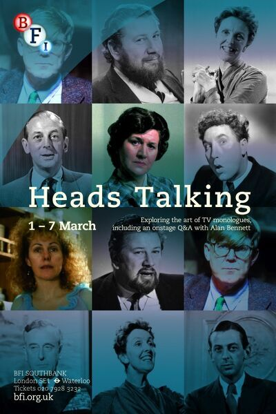 Poster for Heads Talking Season at BFI Southbank (1 - 7 March 2013)