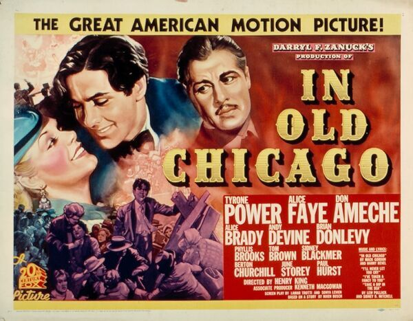 Darryl F Zanuck Tyrone Power Alice Faye Don Ameche Alice Brady Andy Devine Brian Donlevy