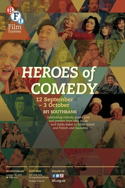 Ken Dodd, Ronnie Corbett, Harry Hill, Arthur Askey, Eddie Izzard, Marty Feldman, Beryl Reid, French & Saunders, Noel Fielding & Julian Barratt (Mighty Boosh), Tommy Trinder, Hilda Baker, Joyce Grenfell, Ted Ray, Miranda Hart, Sarah Hadland, Morecambe & Wise