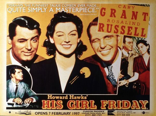 Cary Grant Rosalind Russell