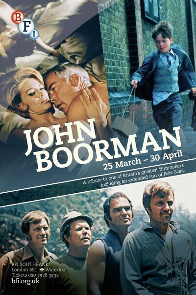 Poster for John Boorman Season at BFI Southbank (25 March - 30 April 2013)