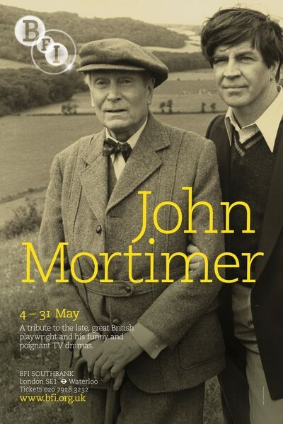 John Mortimer Alan Bates Laurence Olivier A Voyage Round My Father