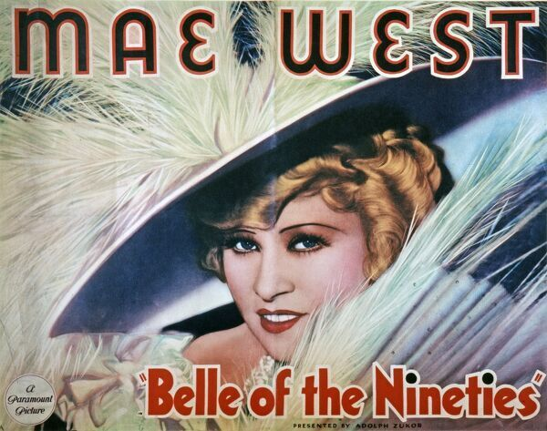 MAE WEST CLASSIC FILM POSTER