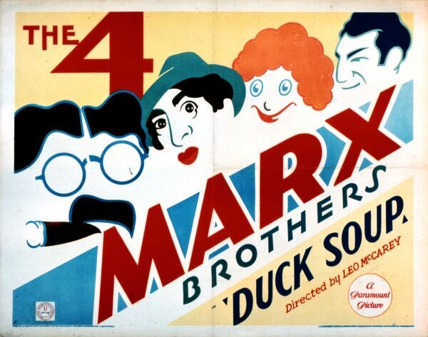 Marx Brothers Classic Film Poster