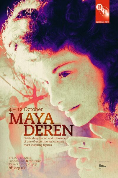 Poster for Maya Deren Season at BFI Southbank (4 - 12 Oct 2011)