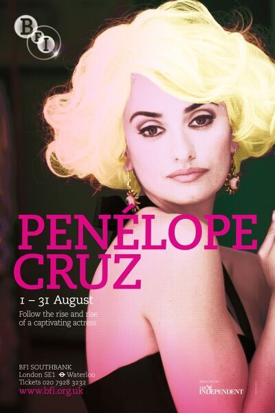 Poster for Penelope Cruz Season at BFI Southbank (1 - 31 August 2009)