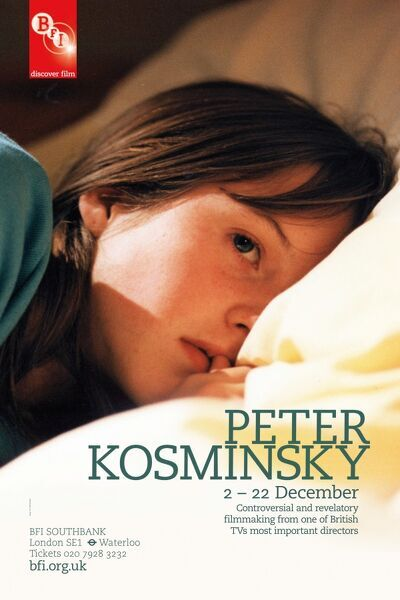 Poster for Peter Kosminsky Season at BFI Southbank (2 -22 December 2011)