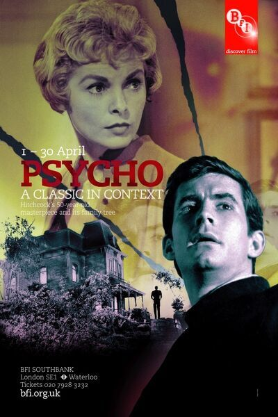 Alfred Hitchcock's Psycho (1960) Anthony Perkins Vera Miles