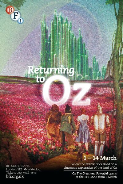 Poster for Returning To Oz Season at BFI Southbank (1 - 14 March 2013)
