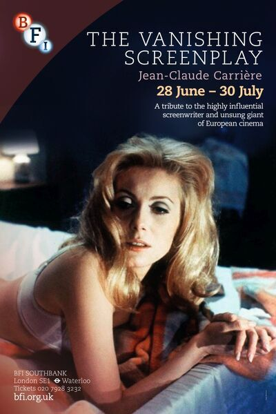 Poster for The Vanishing Screenplay (Jean-Claude Carriere) Season at BFI Southbank (28 June - 30 July 2012)