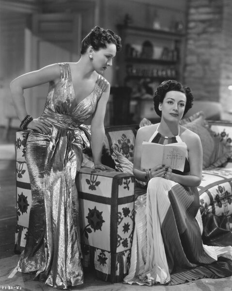Rose Hobart and Joan Crawford