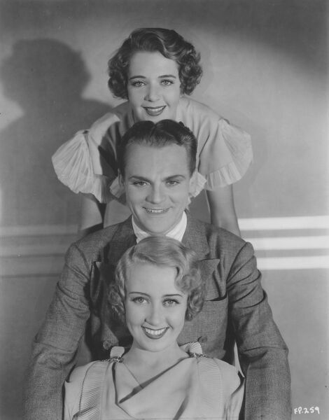 Ruby Keeler, James Cagney, and Joan Blondell in Footlight Parade (1933)