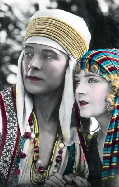 Rudolph Valentino and Vilma Banky in Son of the Sheik (1926)