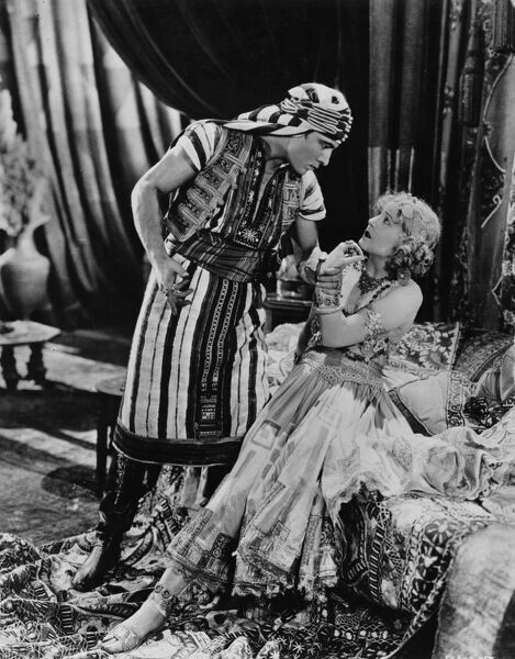 Rudolph Valentino and Vilma Banky in The Son of the Sheik (1926)