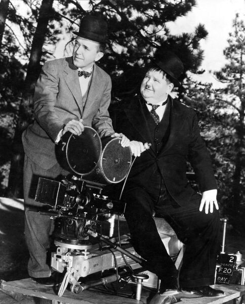 Stan Laurel and Oliver Hardy (Laurel & Hardy)