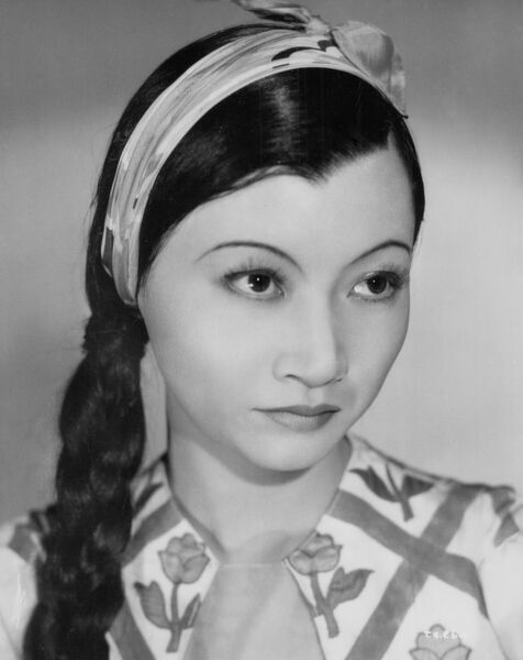 Studio Portrait of Anna May Wong