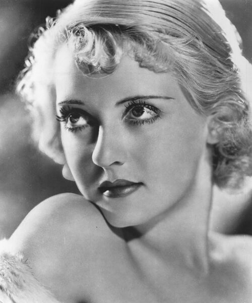 Studio Portrait of Bette Davis