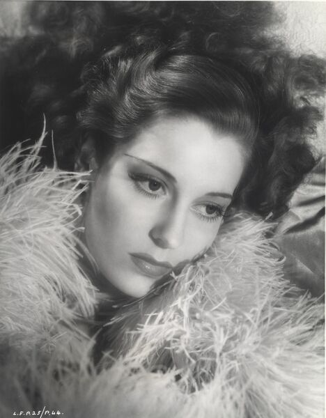 Studio Portrait of Valerie Hobson