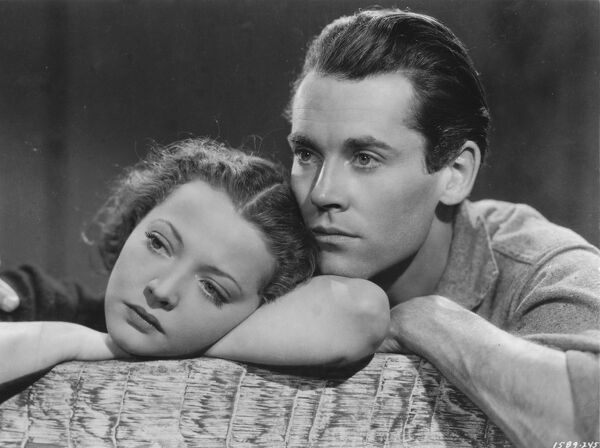 Sylvia Sidney and Henry Fonda in Trail of the Lonsesome Pine (1936)