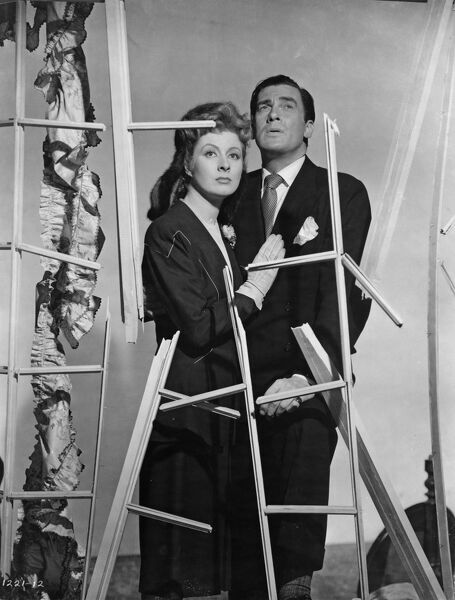 Walter Pidgeon and Greer Garson in William Wyler's Mrs Miniver (1942)