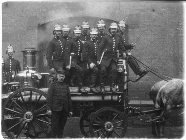 MITCHELL AND KENYON 363 WIGAN FIRE BRIGADE 1902