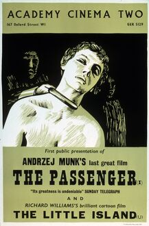 Academy Poster for Andrzej Munk's The Passenger (1963)