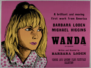 Academy Poster for Barbara Loden's Wanda (1970)