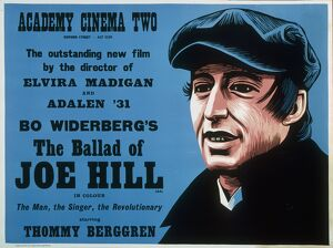 Academy Poster for Bo Widerberg's The Ballad of Joe Hill (1971)