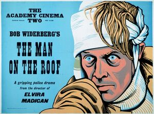 Academy Poster for Bo Widerberg's The Man On The Roof (1976)