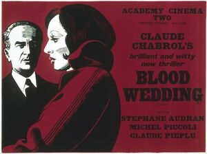 Academy Poster for Claude Chabrol's Blood Wedding (1973)