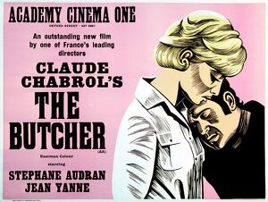 Academy Poster for Claude Chabrol's The Butcher (1970)