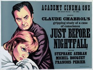 Academy Poster for Claude Chabrol's Just Before Nightfall (1971)