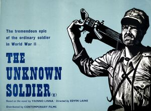Academy Poster for Edvin Laine's The Unknown Soldier (1954)