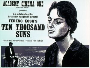 Academy Poster for Ferenc Kosa's Ten Thousand Suns (1967)