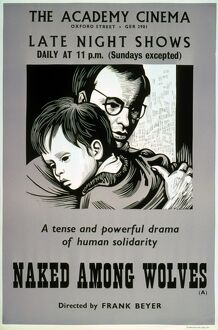 Academy Poster for Frank Beyer's Naked Among Wolves (1963)