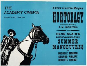 Academy Poster for George Hoellering's Hortobagy (1936)