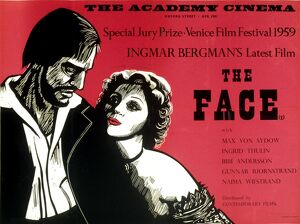 Academy Poster for Ingmar Bergman's The Face (1958)