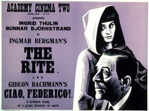 Academy Poster for Ingmar Bergman's The Rite (1969)