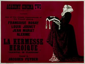 Academy Poster for Jacques Feyder's La Kermesse Heroique (1935)