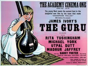 Academy Poster for James Ivory's The Guru (1968)